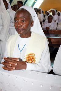Sr. Austin Tshabalala AMR - golden jubilee of religious vows