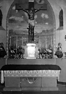 Altar and sanctuary of St. Patrick's church, Makokoba