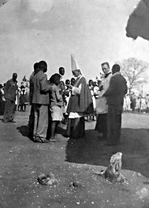 Pontifical Baptism at Mhlabangubo