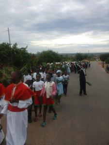 Palm Sunday 2018 in the Holy Spirit Parish