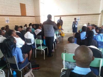 Voter's Registration Youth Workshop, Isinga, 2018