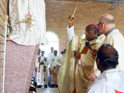Blessing of the tabernacle