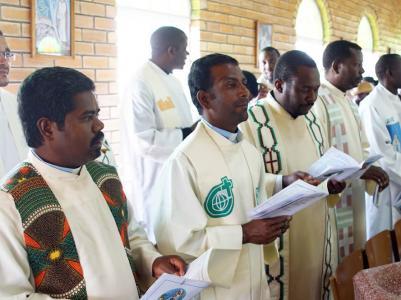 Priests present