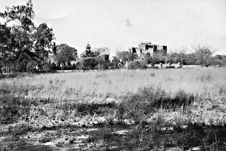 """""""The Castle"""" in Hillside"""