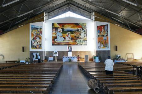 Sanctuary at Holy Family, Nketa