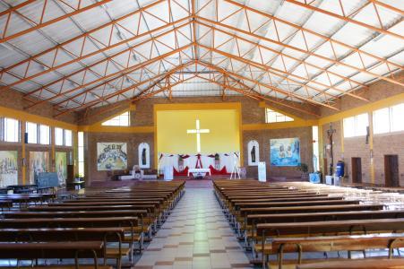 In the Mpopoma Church