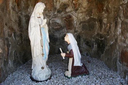 Grotto at St. Bernadette's Parish