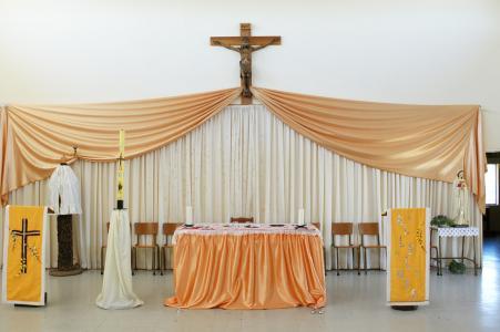 Sanctuary of St. Bernadette's Parish